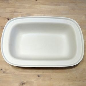 "NEW Pampered Chef 17"" rectangular lid/bowl 1435"